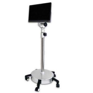 Rolling monitor base